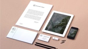 Elementi Corporate Identity Marianne Fierro