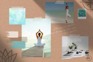 Moodboard corso di yoga - La Rosa dei Venti Castiglione d'Adda Lodi