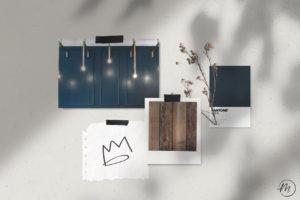 Moodboard di ispirazione per progetto Corporate Identity Regina Margherita Casalpusterlengo