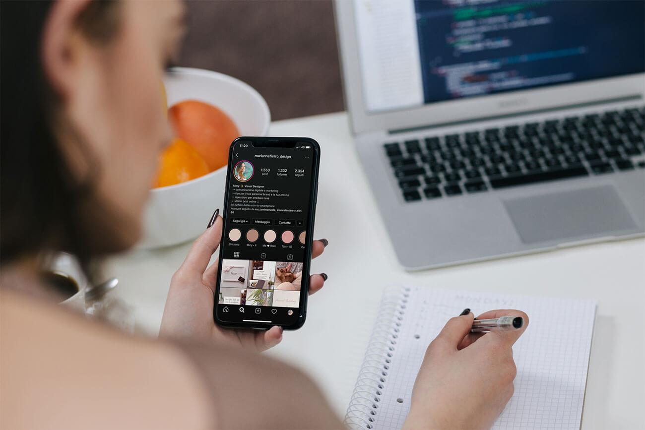 Studiare e imparare al meglio le regole di Instagram per promuovere il proprio business