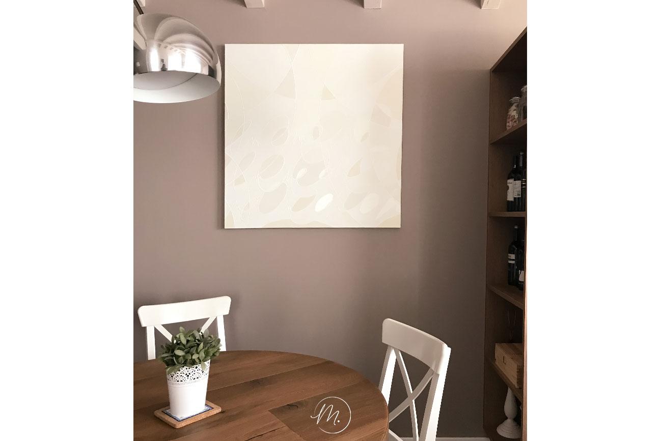 Decorare pareti vuote con opera d'arte Sion Valentine