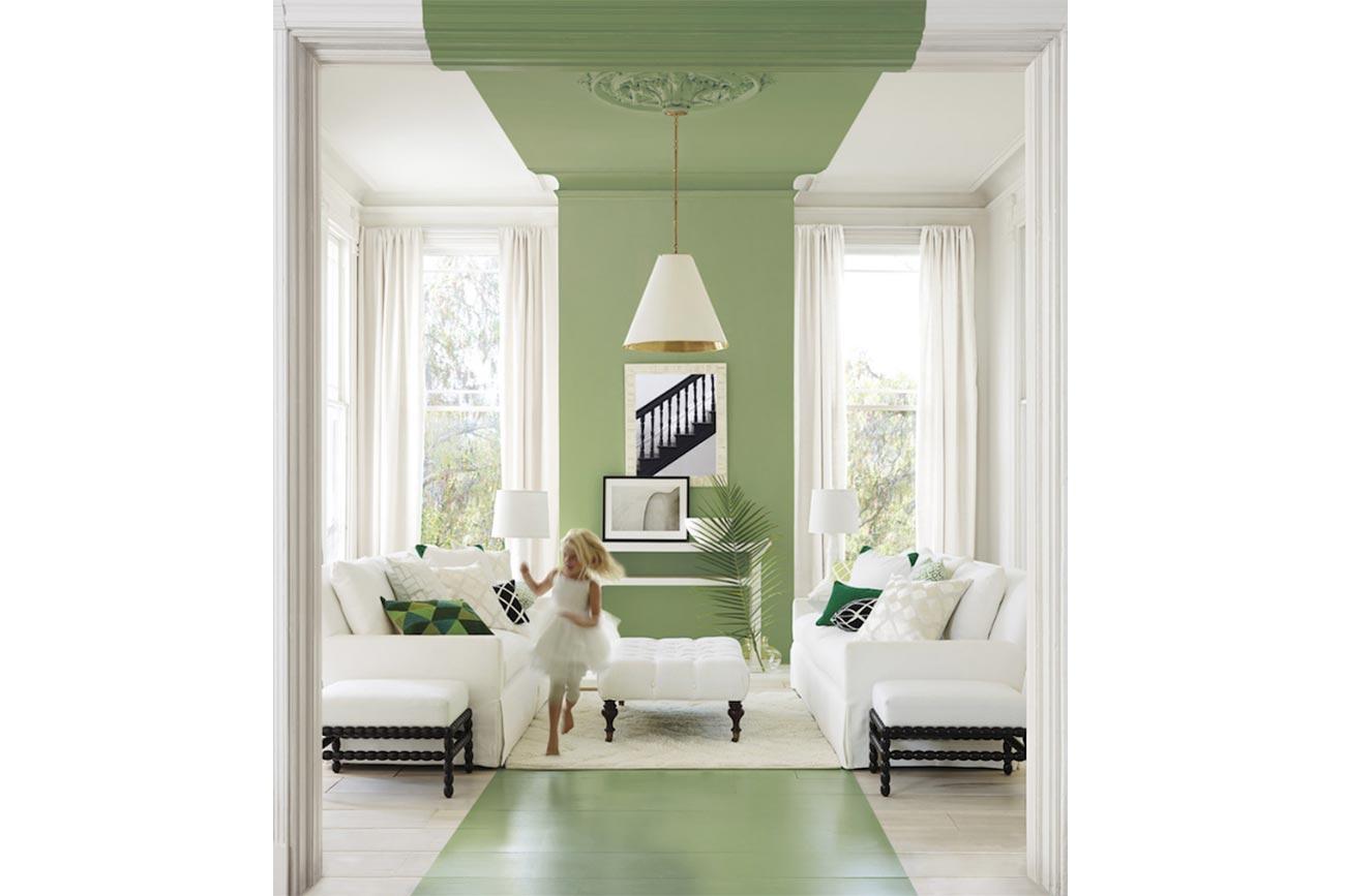 Dipingere le pareti con la tecnica del color blocking